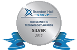 "Gewinner des ""Excellence""-Awards der Brandon Hall Group"