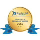 Best Advance in Learning Management Technology di Brandon Hall Group per il 2020